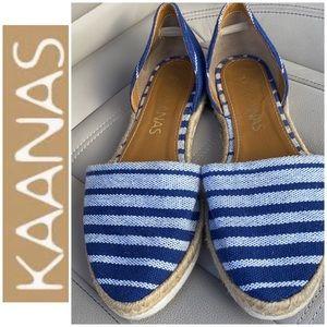 Kaanas Anthropologie flat shoe like new worn twice